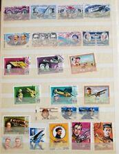 francobolli Aviazione Aeronautica-108 francobolli misti -lotto n.3-VARIE Nazioni
