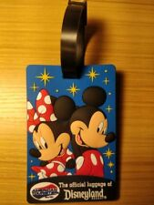American Tourister DISNEYLAND RESORT Official Mickey & Minnie Luggage Tags