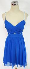 NWT HAILEY LOGAN $85 Bright Blue Dance Party Dress 7