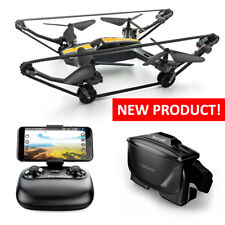 Xerall X-TANKCOPTER Hybrid Quadcopter-Tank Drone, HD cam, VR Goggles, 2.4 GHz