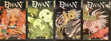 Qwan Manga Tokyopop Volumes 1,2,3,4 1-4 Comics Comic tpb lot collection anime