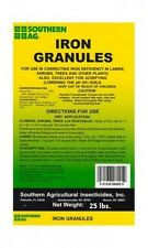 SOUTHERN AG IRON GRANULES (25 LBS.)