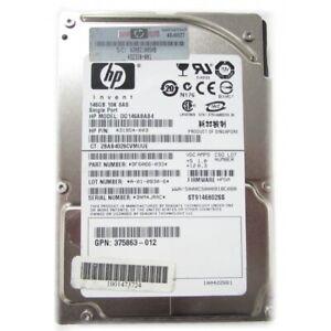 "4x 146GB Genuine HP 10k SAS 2.5"" HDD DL360 DL380 DL385 DL580 G5 6 G7 ST9146802SS"