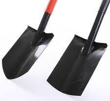 Spaten Gartenspaten Pionierspaten Schaufel aus Stahl schwarz 2 Arten