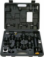 18pcs Auto Cooling System Radiator Cap Pressure Tester Kit Pump Gauge Adapter Us
