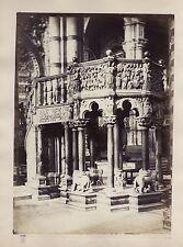 Sienne Siena Intérieur DuomoItalie Italia Vintage albumine ca 1870