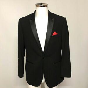 New Moss 1851 Tux Blazer UK 40 Men's Black Dinner Jacket Formal Occasion 493446