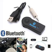 1x USB 3.5mm Bluetooth Wireless Aux Stereo Audio Music Car Adapter Receiver New