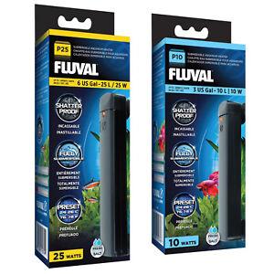 Fluval P Submersible Aquarium Heater - 10W, 25W