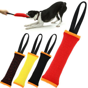 Dog Bite Tug Toy Extra Tough Durable Interactive Toys Puppy Training Tug of War