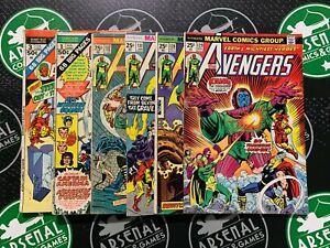 AVENGERS Bronze Age Lot of 15 (#87-132 + GS 1, 2) Iron Man Thor Captain America