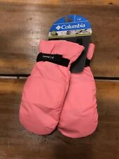 Columbia Youth Y Core Mittens Girls Size Large Peach