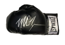 IRON MIKE TYSON WORLD CHAMPION SIGNED EVERLAST BOXING GLOVE SEE PROOF & COA