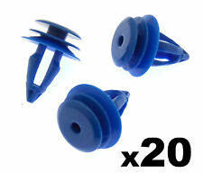20x LAND ROVER RANGE ROVER EVOQUE Plastica Clip per ANTERIORE E POSTERIORE PASSARUOTA trim