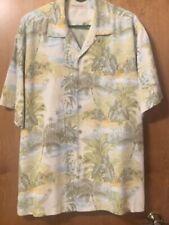 -Mens Ivory Tommy Bahama Shirt L