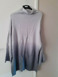Unbranded Womens 2 Tone Jumper Size 16 Casual, Holiday  ***Blu128***