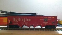 CB&Q 172700, BURLINGTON 4-BAY OPERATING HOPPER, HO SCALE