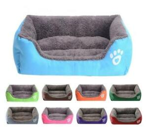 Puppy Cushion Pet Bed Washable Kennel Dog Mat Pet Dog Cat Bed