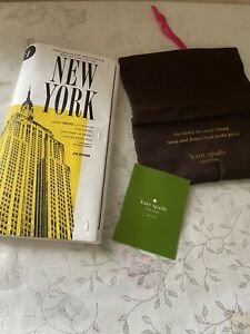 NWT Kate Spade Far From The Tree NYC Map Clutch Bag Purse