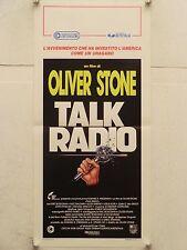 TALK RADIO drammatico regia Olive Stone locandina orig. 1989