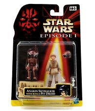 Star Wars Episode 1 - Anakin Skywalker with Bonus Pit Droid Action Figure Set