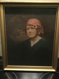 Oil Painting By Robert Miller Scottish Artist Colourman 186 Trongate Glasgow
