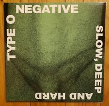 2014 Record Store Day Issue Type O Negative Slow Deep Hard 2x Vinyl Gatefold NM-