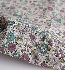Love Flower 100% cotton fabric (By The Yard) Asa Floral Lightweight H2/22<*
