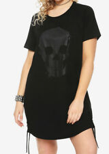 Hot Topic black skull t-shirt dress, Plus size 4X
