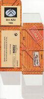 HACHETTE NOREV BOITE CARTON VIDE 1/43 nombreux modèles CITROEN 2CV au choix