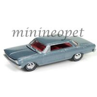 JOHNNY LIGHTNING JLMC010 B 1965 CHEVROLET NOVA SS 1/64 DIECAST GLACIER GRAY POLY