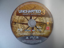 UNCHARTED 3 Drake's Deception PS3 Game Playstation 3 Game Disc Only
