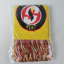 New Stockton Heat Minor League Hockey Knit Scarf S365 Fired Up!