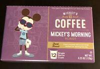 Disney Parks Mickeys Really Swell Coffee dark Roast 12 Svg Kcup Kuerig