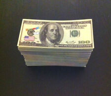 $22,500 = 500 X Unreal Fake Dollar Poker Game Play Money Banknotes Monopoly Toy