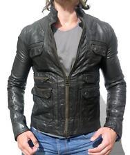 *SOLD OUT* ALL SAINTS HABANERO LEATHER JACKET shirt biker RRP £295 L