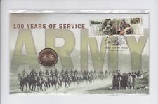 2001 100 Year of Service Army $1 Coin & Stamp Set PNC FDC