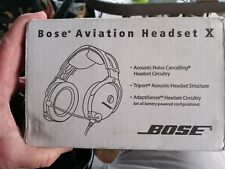 Bose X Aviation Headset with Case Brand New still in Box