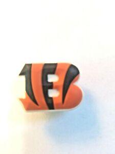 NEW! Cincinnati Bengals JIBBITZ Logo Croc/Bracelet Charm