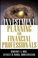 Investment Planning for Financial Professionals by Somnath Basu, Stanley B....