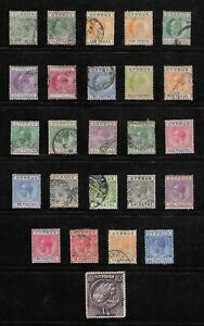 COLLECTION CYPRUS QUEEN VICTORIA, EDWARD VII ETC. POSTAGE STAMPS - MIXED JOBLOT.