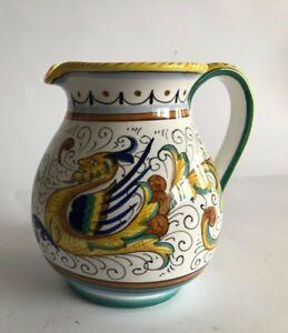 Ceramica umbra Deruta brocca