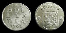 Netherlands / Holland - Dubbele Wapenstuiver 1761 ~ CNM 2.28.118