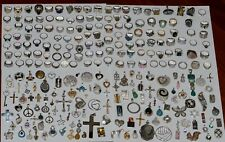 Vintage Sterling Silver 925 Stamped Mixed Jewelry Lot 599 Pieces 3857 Grams