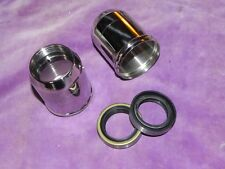 BSA B25/44 FORK SEALS 97-1500 & STAINLESS STEEL SEAL HOLDERS 97-3639 TR25 68-70