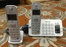 Panasonic KX-TGE270 2 Digital Cordless Phone Set - Bluetooth