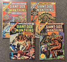 Giant-Size Man-Thing #'s 1,2,3 & 5 (4 Books) Marvel Comics