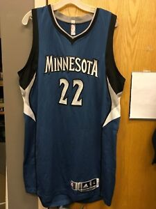 Andrew Wiggins Game Used RC 2014-15 Minnesota Timberwolves Jersey w LOA Warriors