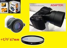RAYNOX DCR-150 MACRO CLOSE-UP LENS +UV+ ADAPTER FOR NIKON COOLPIX L340 67mm