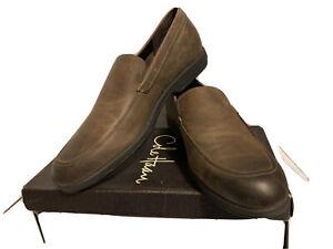 COLE HAAN LUNAR TOLEDO VENETIAN Brown Leather Slip On Loafers Mens Shoe Size 13